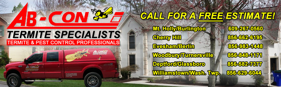 AB-Con Termite & Pest Control - Locations Served and Phone Numbers